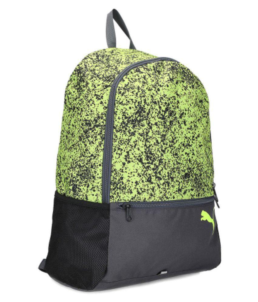 Insignificante portátil Enumerar  Puma Green Alpha Backpack - Buy Puma Green Alpha Backpack Online at Low  Price - Snapdeal