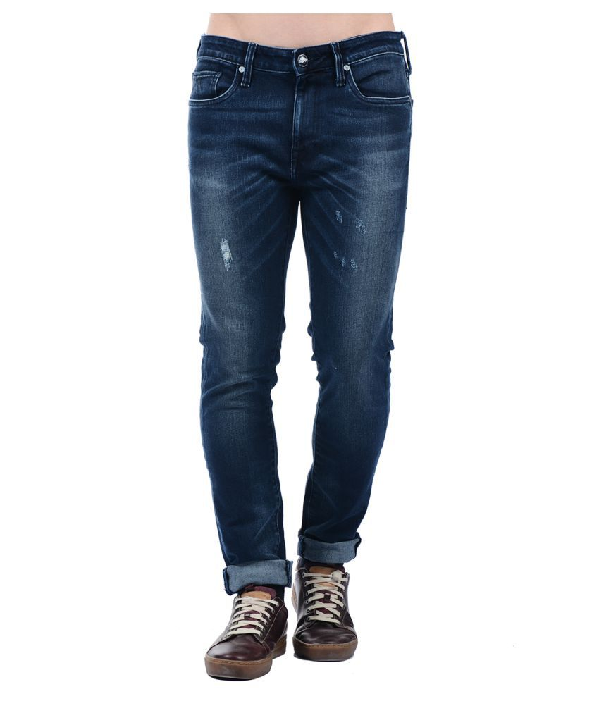 Ed Hardy Blue Skinny Jeans