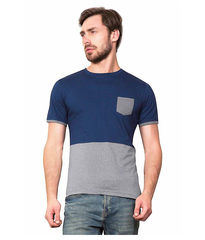 Maniac Navy Round T-Shirt