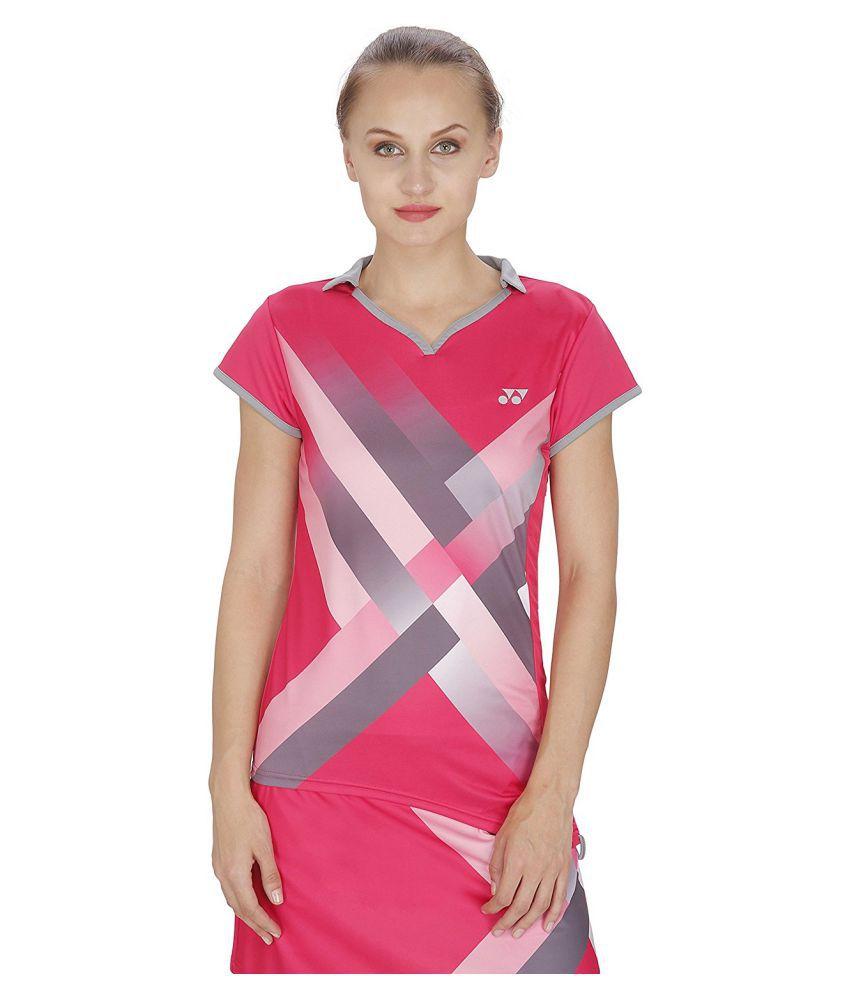 Yonex Badminton Girl's Tshirt's RL6-474-Pink