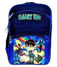 Arip Ben 10 Blue Polyester School Bag