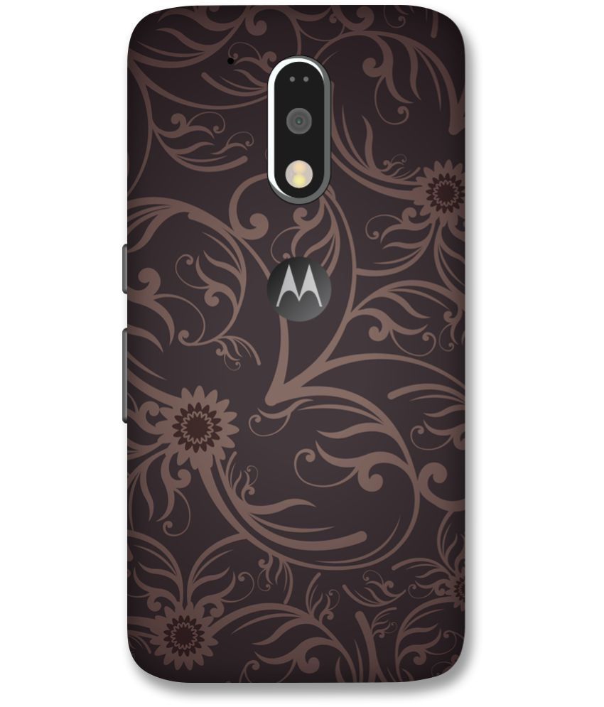 Moto G4 Plus Printed Cover By Print Opera