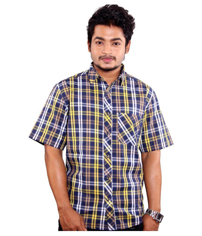 favio Multi Casual Slim Fit Shirt