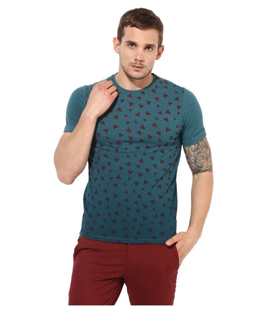 Leo Sansini Green Round T-Shirt