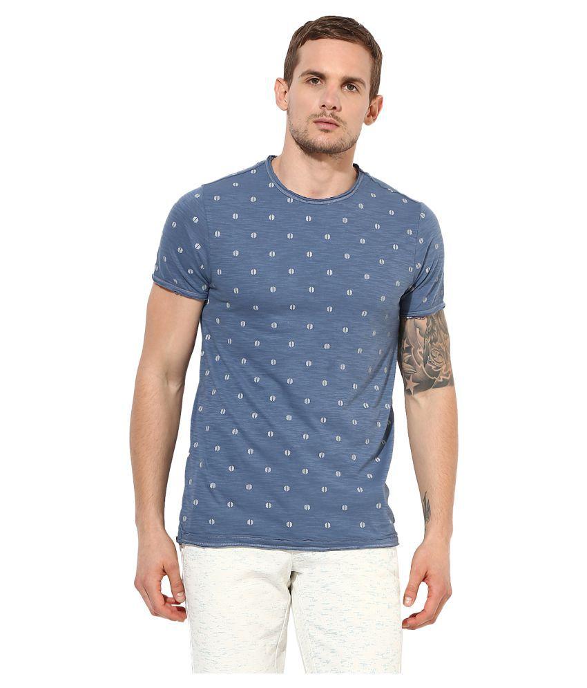 Leo Sansini Navy Round T-Shirt