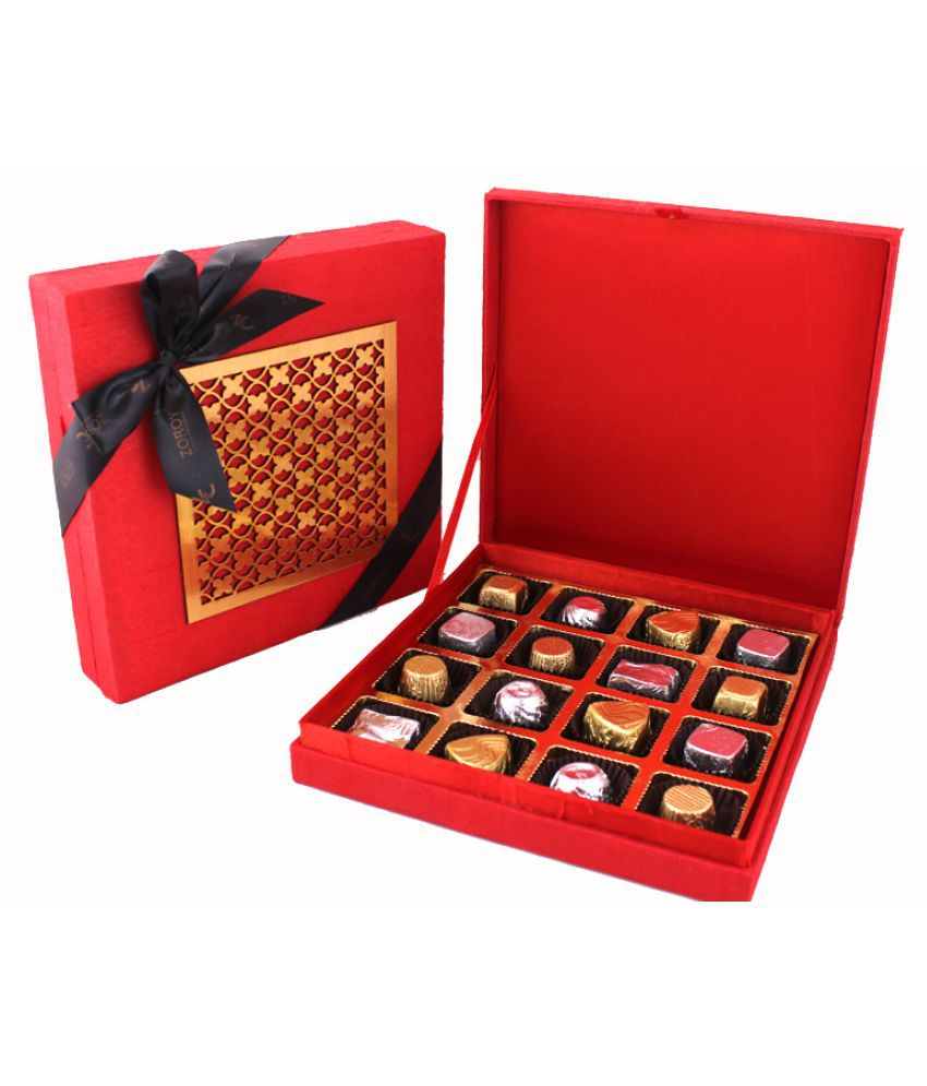 ZOROY LUXURY CHOCOLATE 16 Chocolates Chocolate Box LuxuryChocolates 500 gm