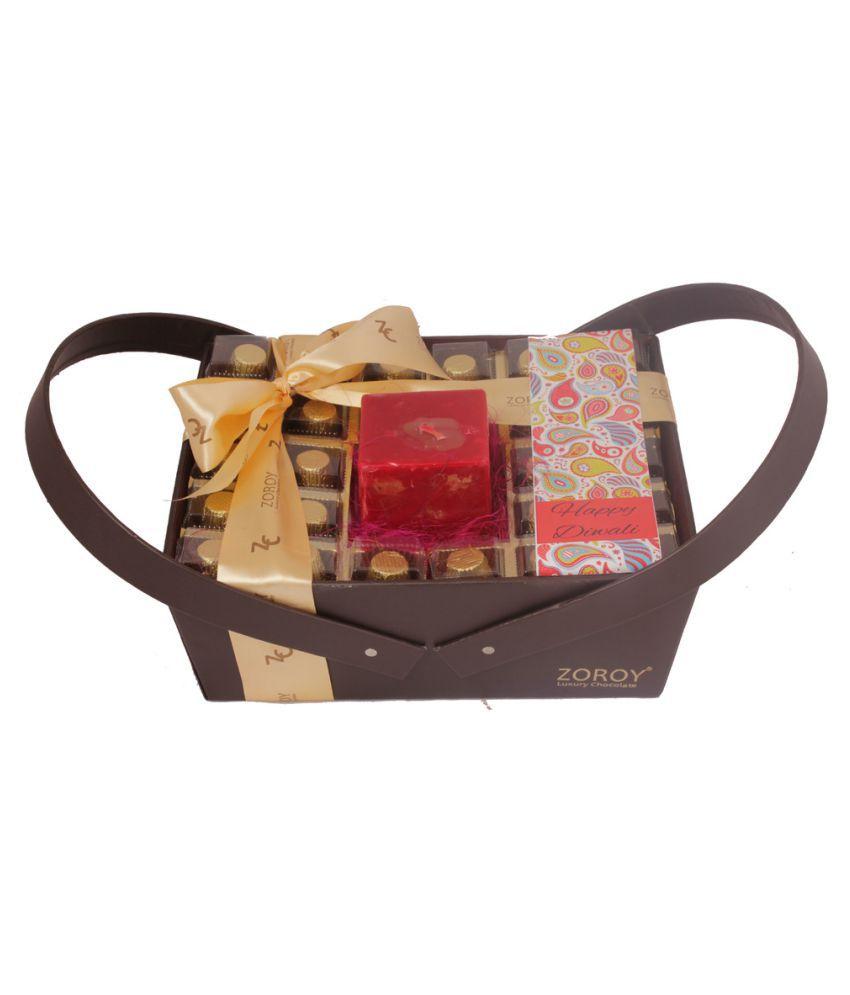 ZOROY LUXURY CHOCOLATE Assorted Chocolate Box Diwali 750 gm