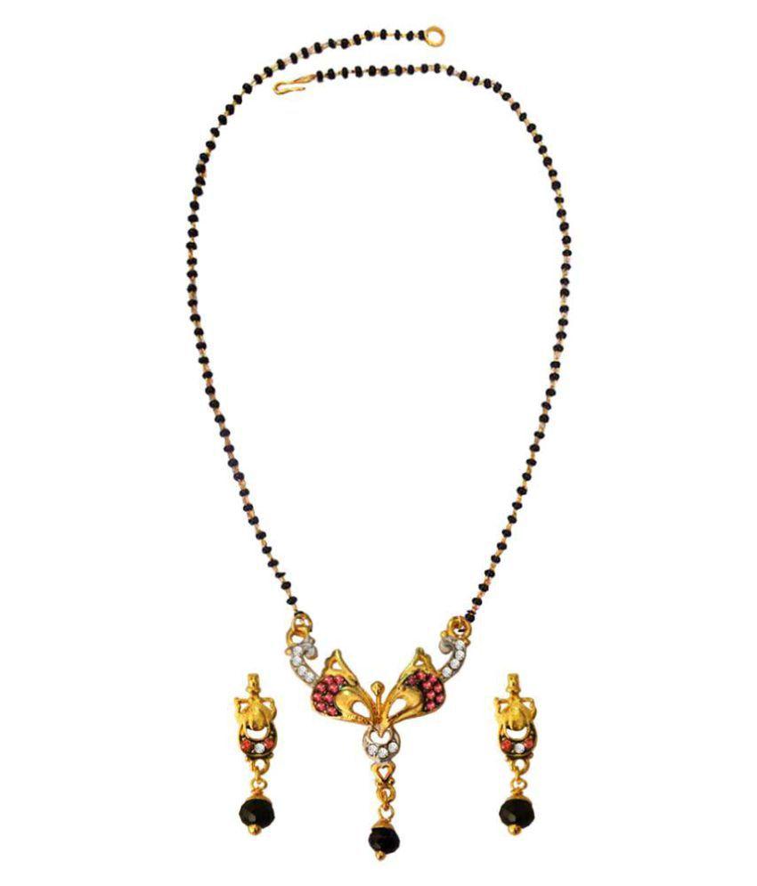 Pihu Bollywood Shilpa Shetty inspired Suhag Mangalsutra