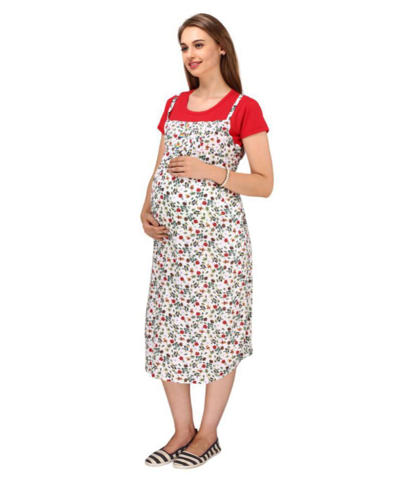 Buy momtobe cotton maternity wear dresses online at best prices in momtobe cotton maternity wear dresses ombrellifo Choice Image