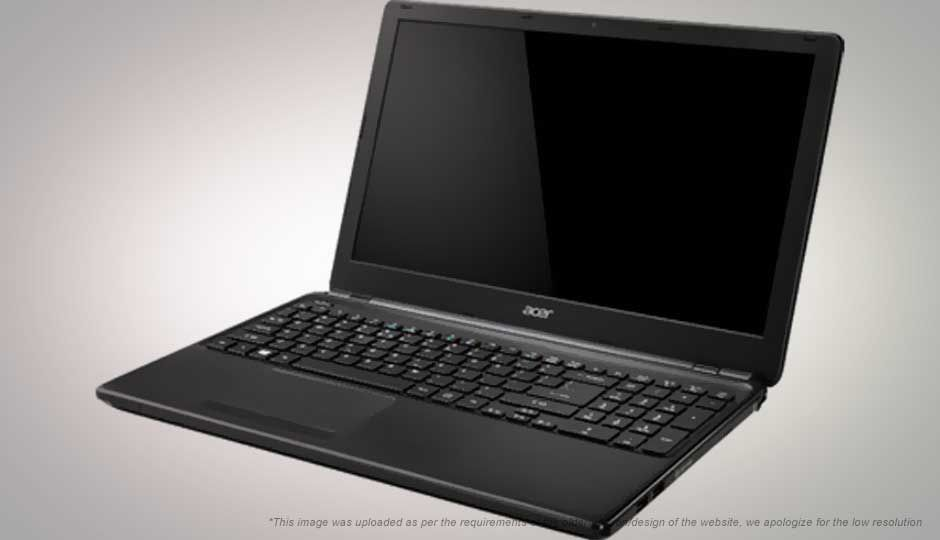 Acer E Series ES1-522 Notebook AMD APU A6 4 GB 39.62cm(15.6) DOS 2 GB Black
