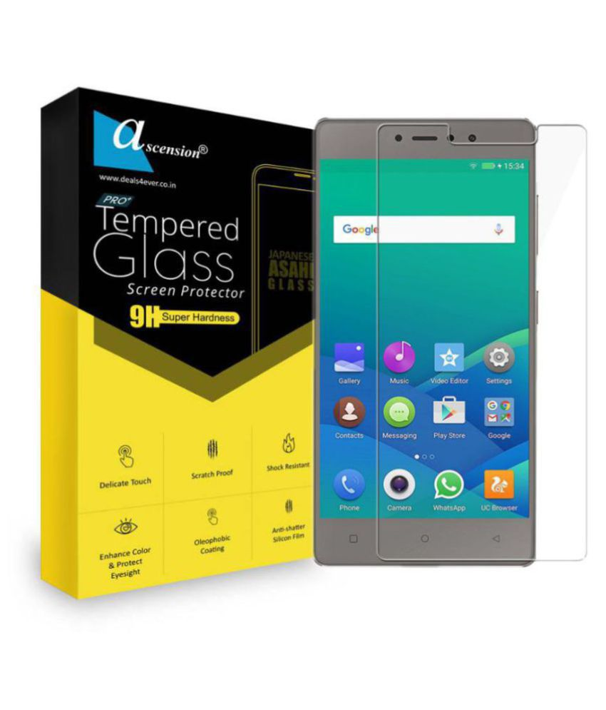 Gionee S6s Tempered Glass Screen Guard By ASCENSION