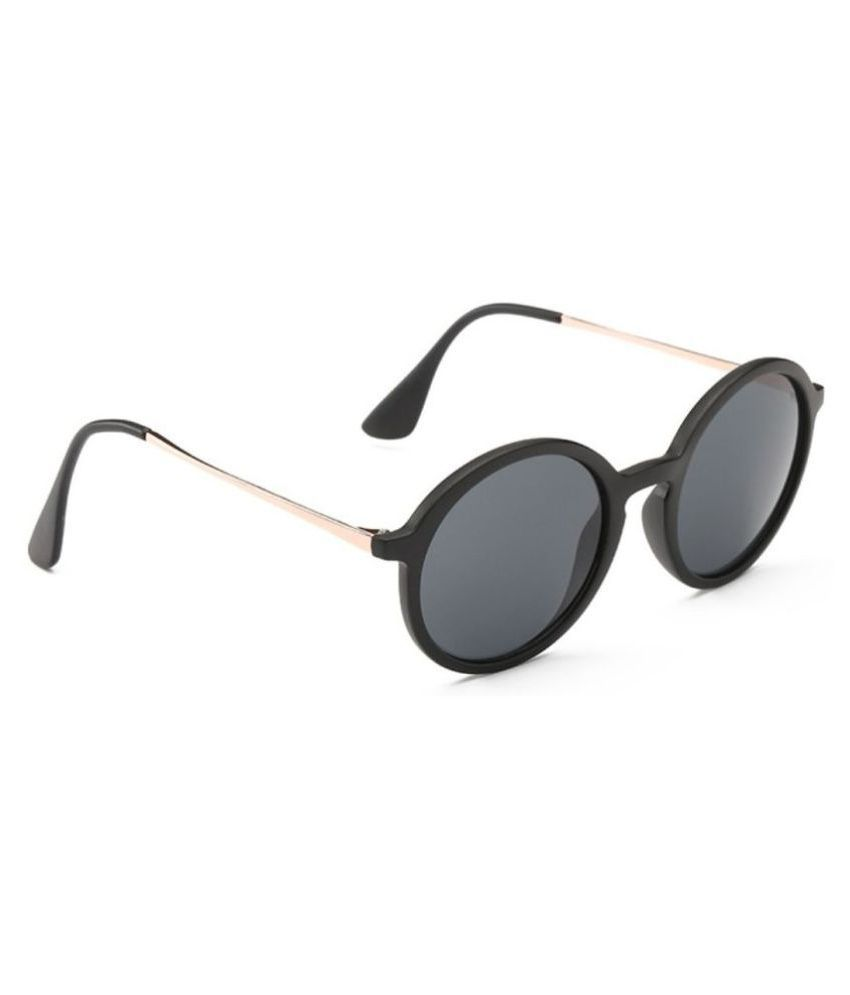 e06008a0438 Mark Miller Black Round Sunglasses ( Origin ) - Buy Mark Miller ...