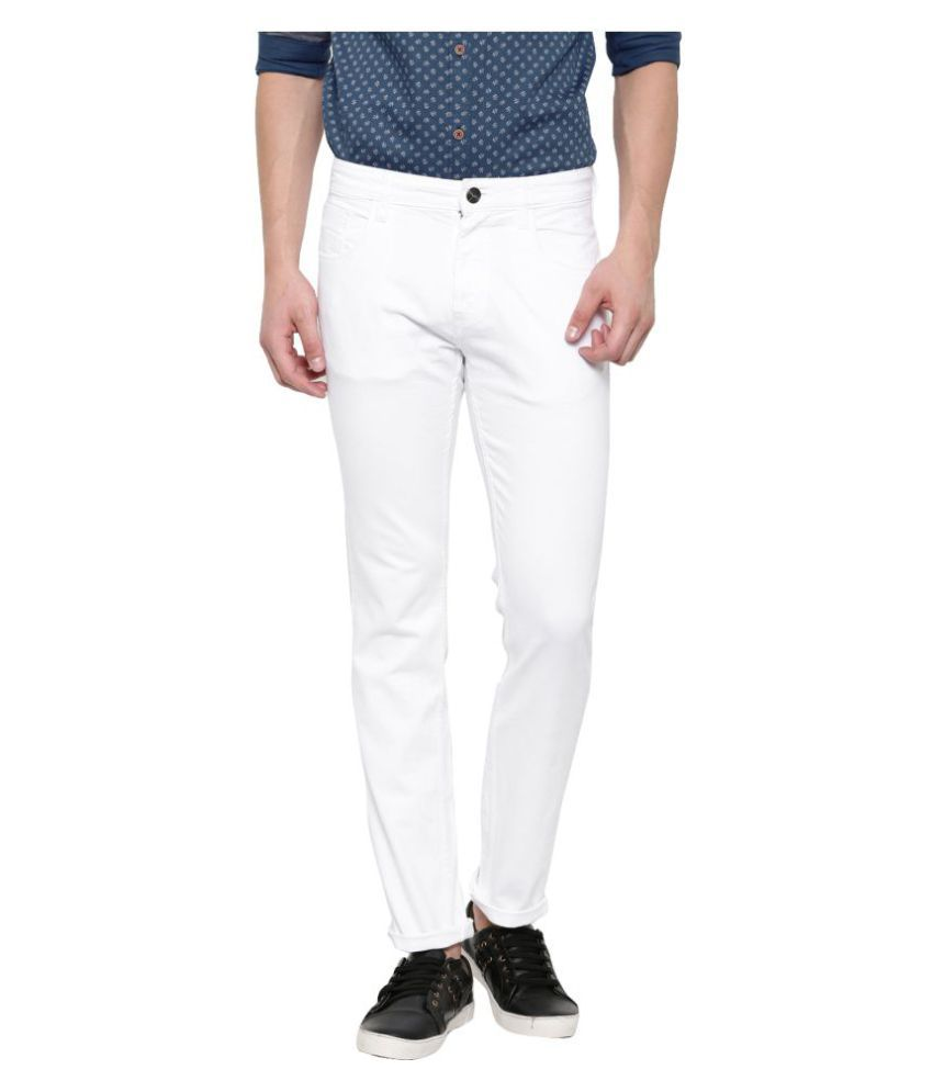 X20 Jeans White Slim Jeans