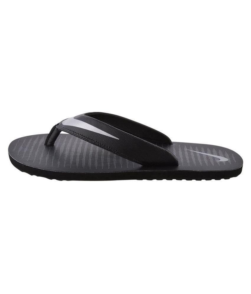 47b3df78 Nike 1 Black Thong Flip Flop Price in India- Buy Nike 1 Black Thong ...