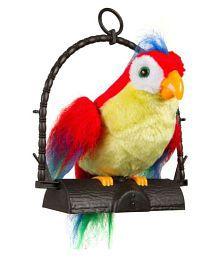 vaibhavi Multicolor Musical Talk Back Parrot