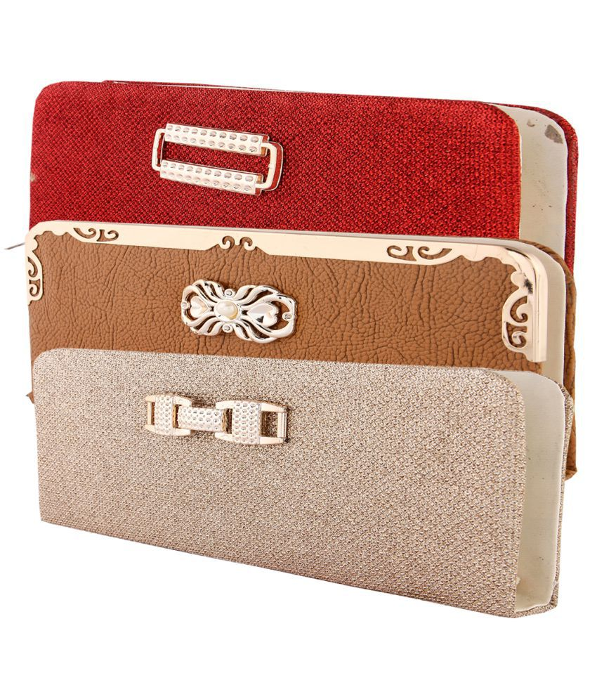 HS COLLECTION Multi Faux Leather Handheld