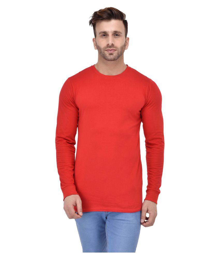 Acomharc Inc Red Round T-Shirt
