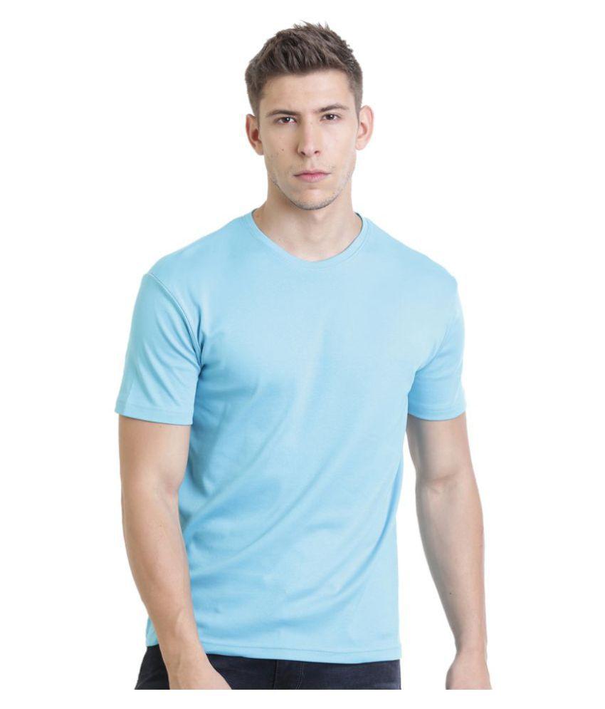 HOLS Blue Round T-Shirt