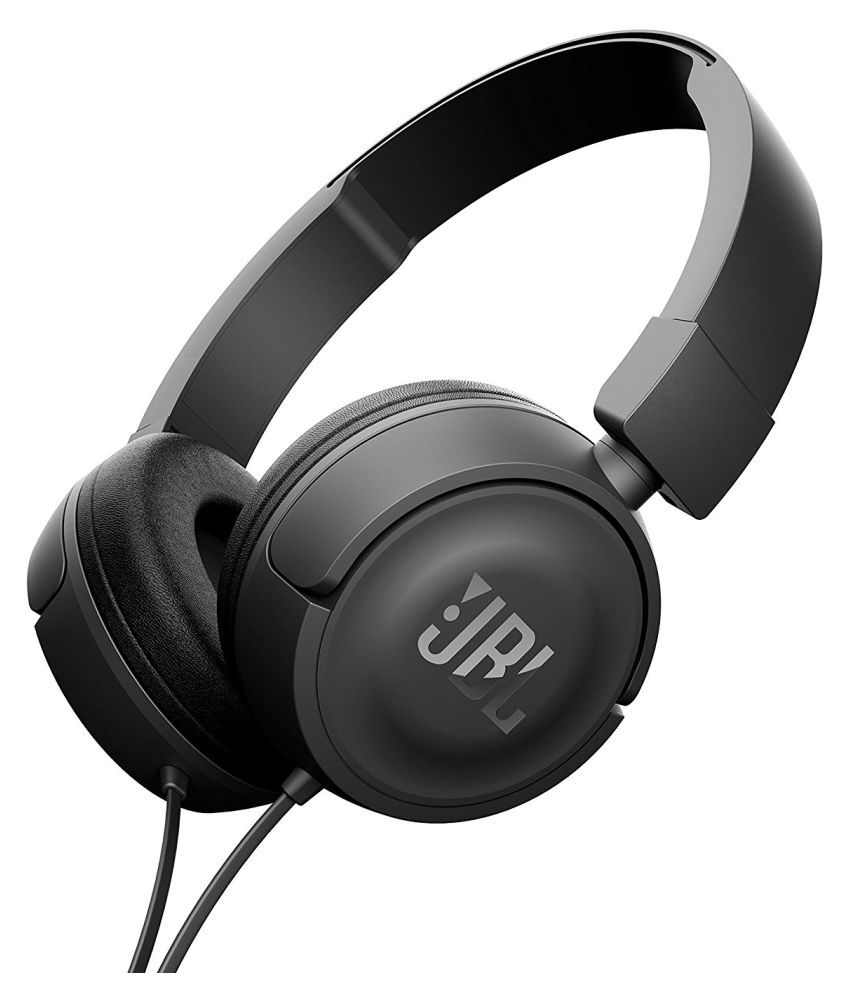 09eaec33a4f JBL T450 Over Ear Wired Headphones Without Mic - Buy JBL T450 Over Ear  Wired Headphones Without Mic Online at Best Prices in India on Snapdeal