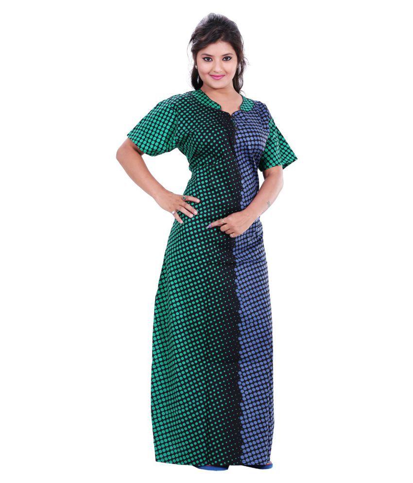 TRUNDZ Cotton Nighty & Night Gowns