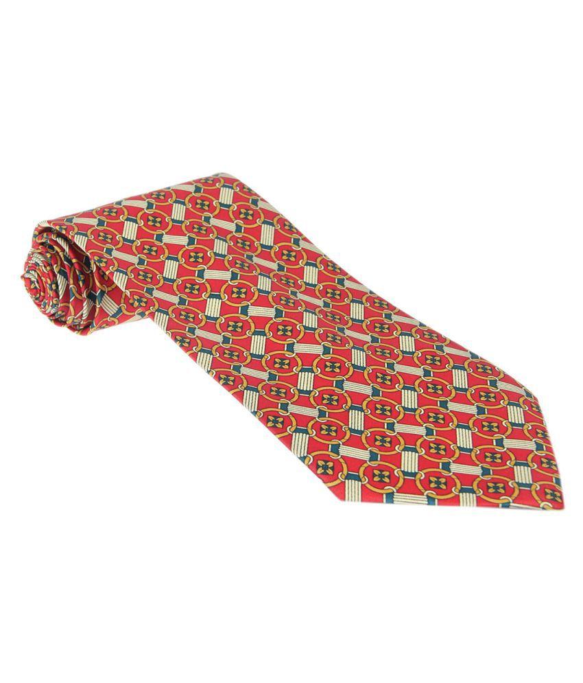 Denmarc Multi Printed Silk Necktie