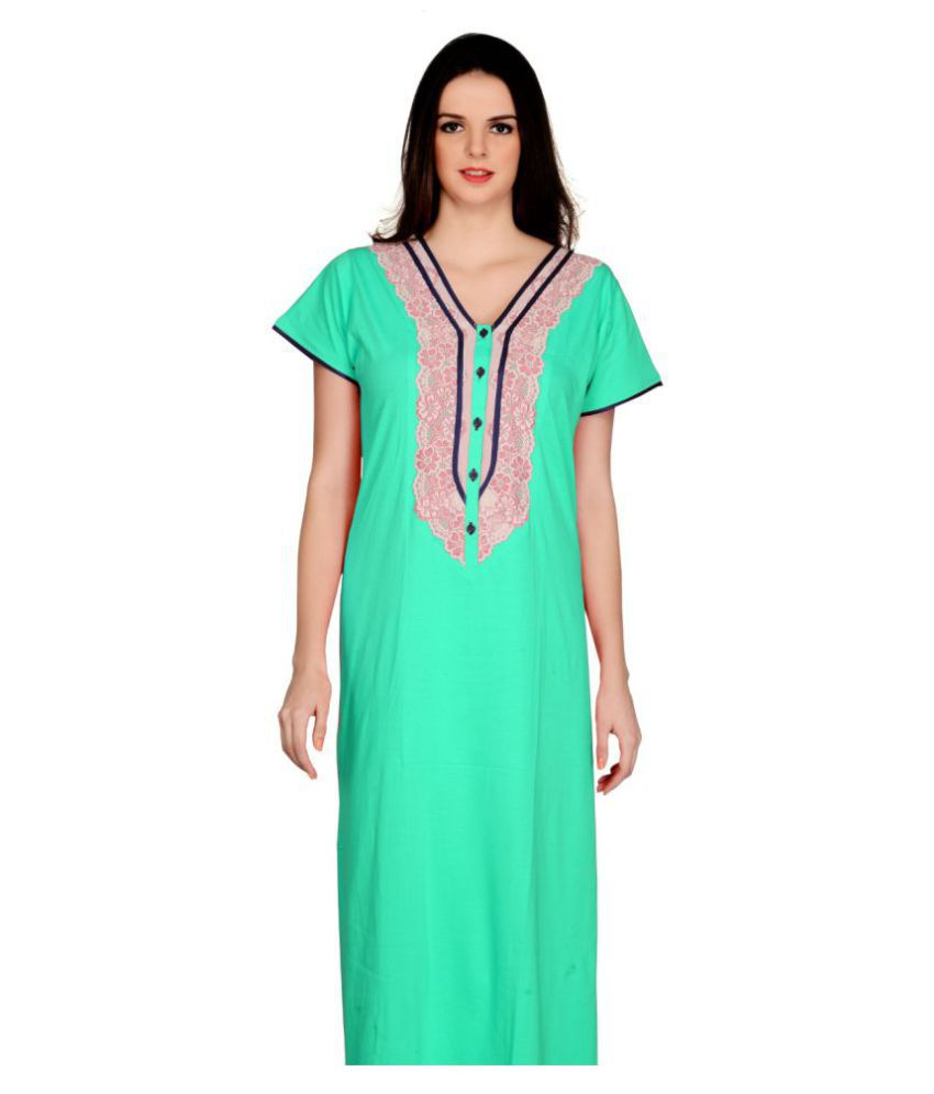 Farry Cotton Nighty & Night Gowns