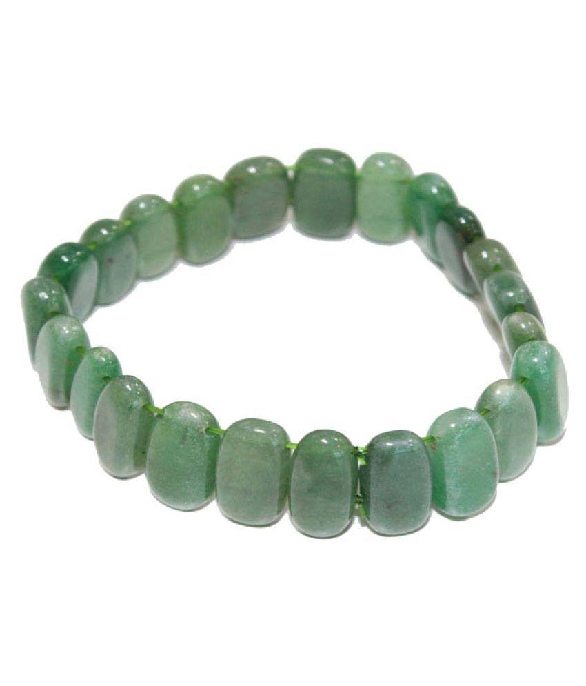 Vasturaviraj Jade Adjustable Crystal Bracelet