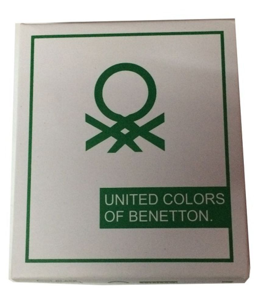 United Colors Of Benetton Leather Black Casual Regular Wallet Buy