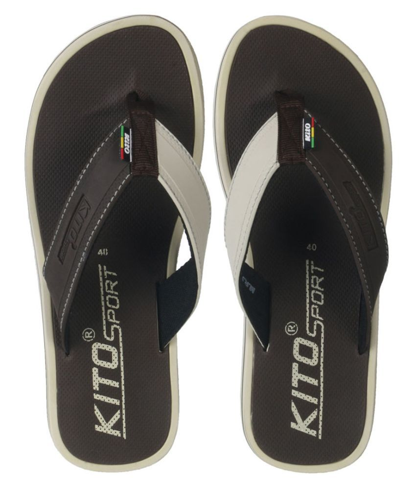 discount really Kito Brown Daily Slippers deals online ttZMY2