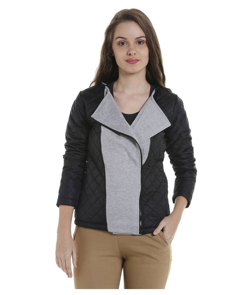 Campus Sutra Cotton Quiltted Jackets