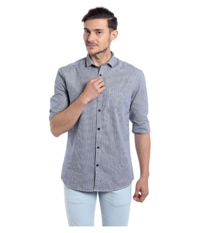 Fast n Fashion Black Casual Slim Fit Shirt