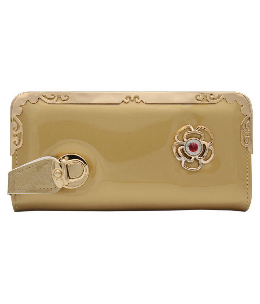 Trendy Gold Wallet