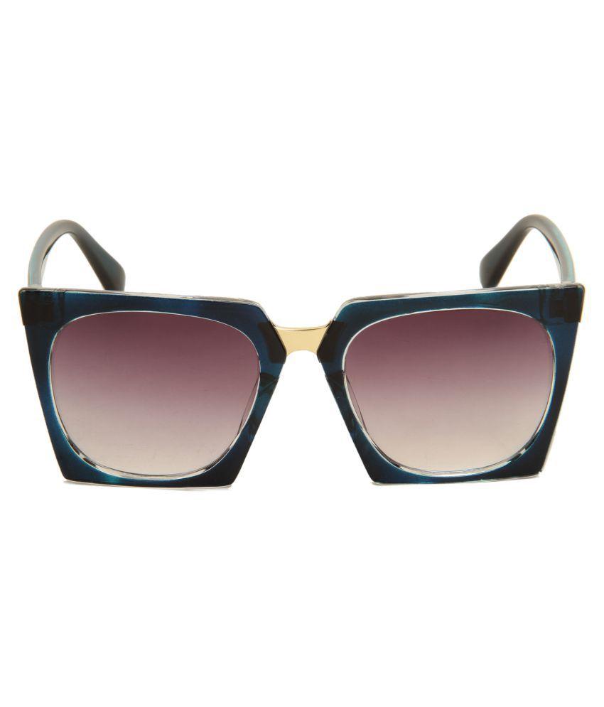 Di tutti Brown Wayfarer Sunglasses ( Z96053 )