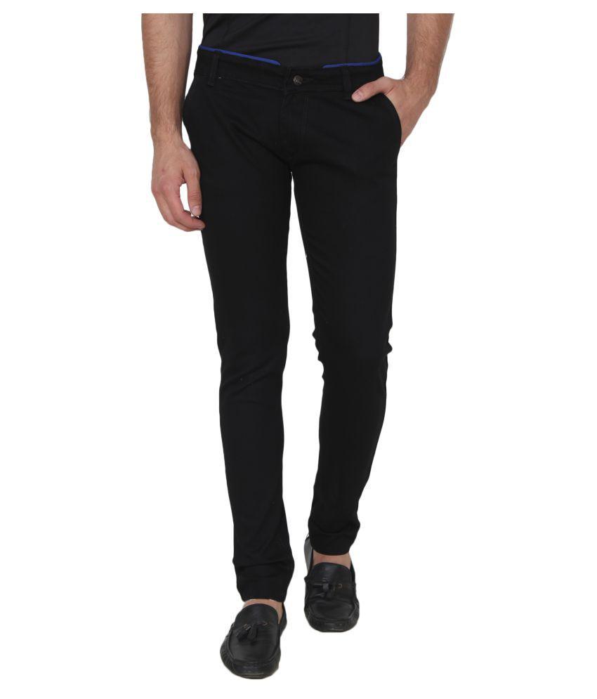 Singham Black Slim Jeans