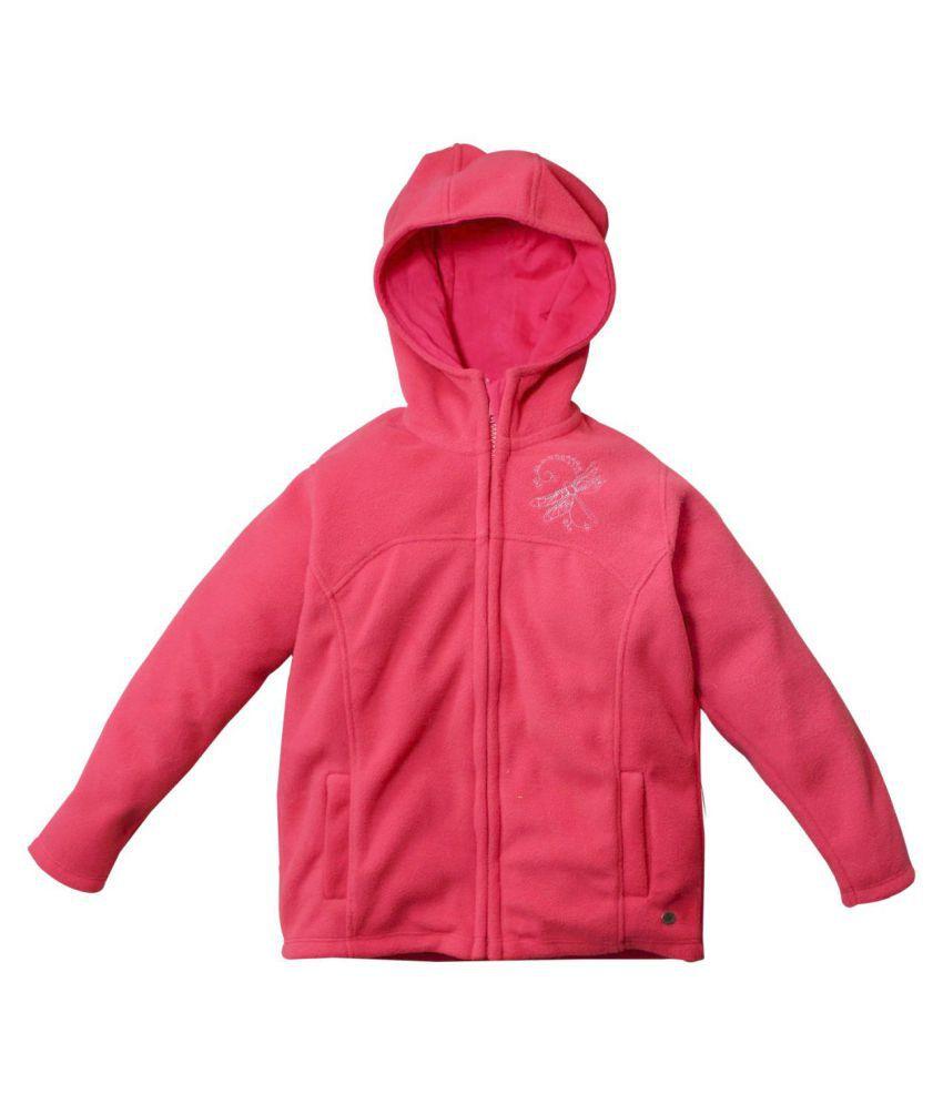 FS MiniKlub Girl's Polar Fleece Jacket-Rose