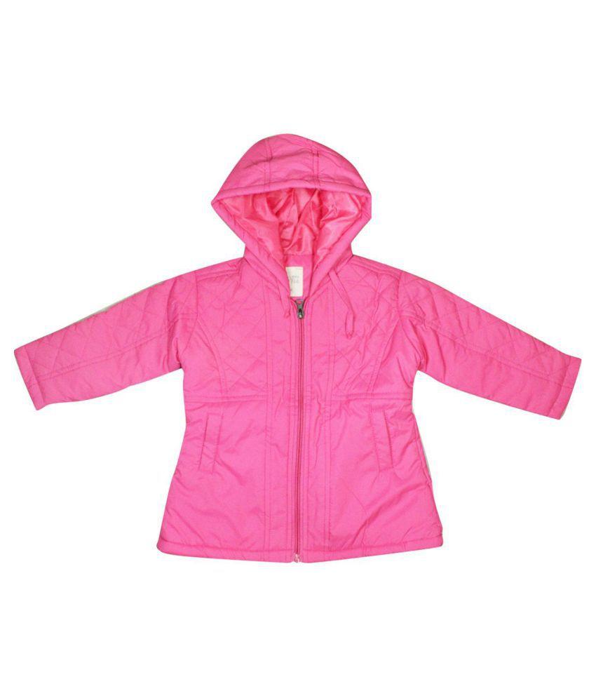 FS MiniKlub Girl's Polyester Jacket-Pink