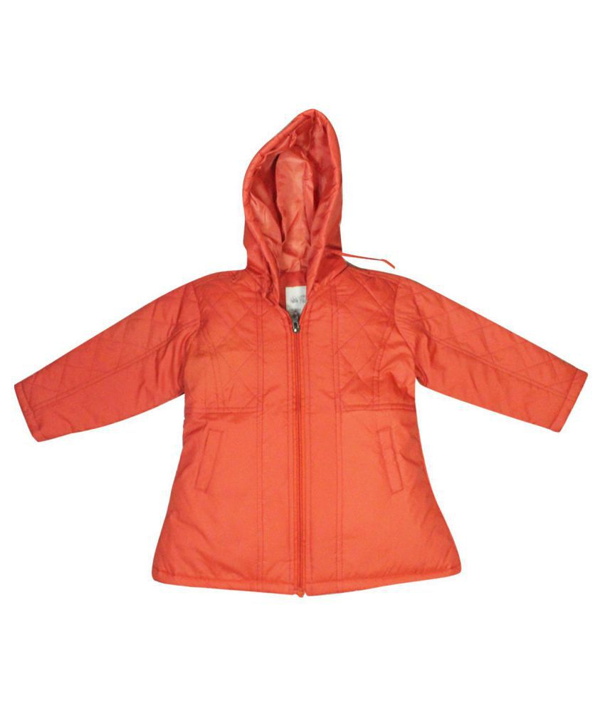FS MiniKlub Girl's Polyester Jacket-Coral