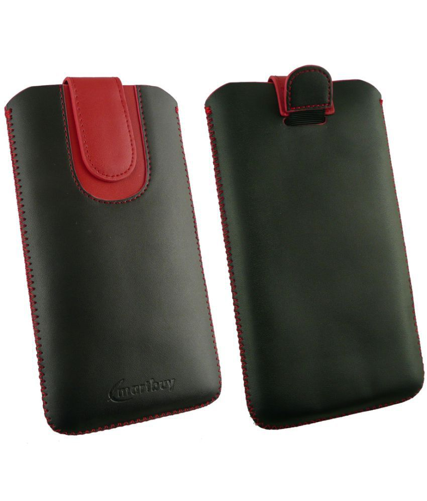 LYF Flame 5 Flip Cover by Emartbuy - Multi