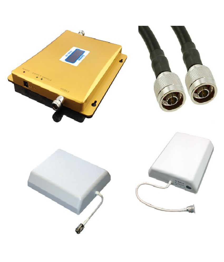Lintratek KW20L-GD High Function 900-1800Mhz Repeater 3200 RJ11