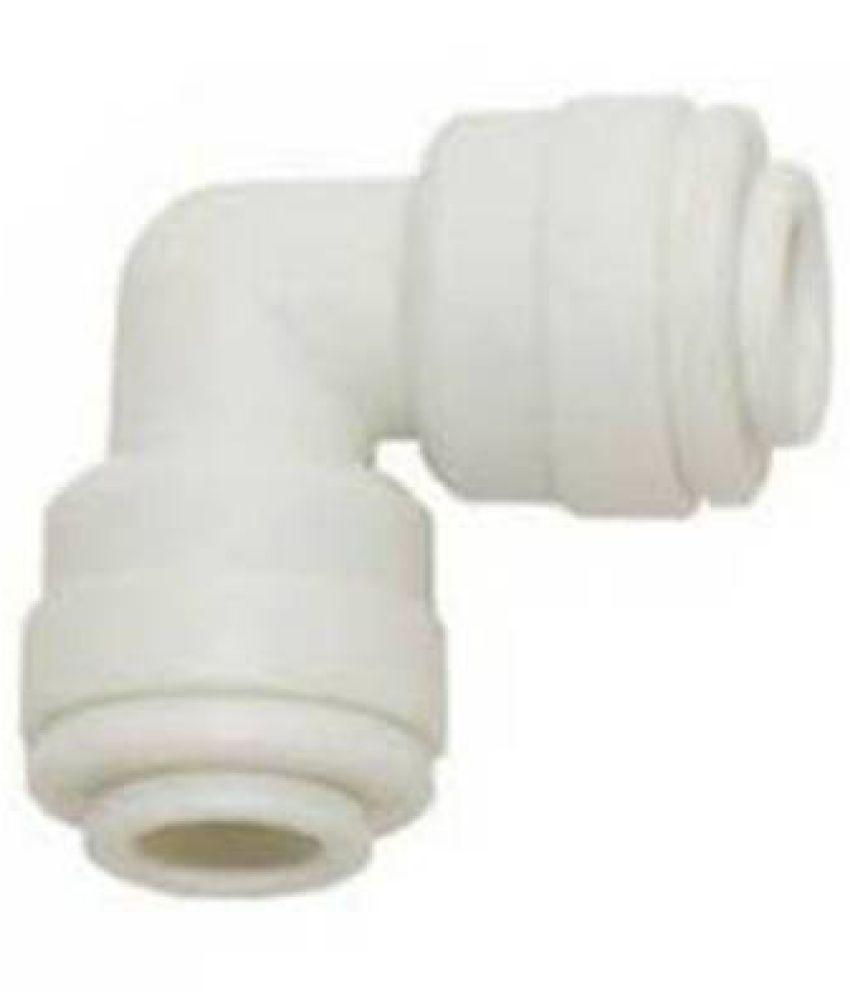PK Aqua 2 Pcs RO 3/8? 1/4? Reducer Elbow Connector Plastic Gadget Tool