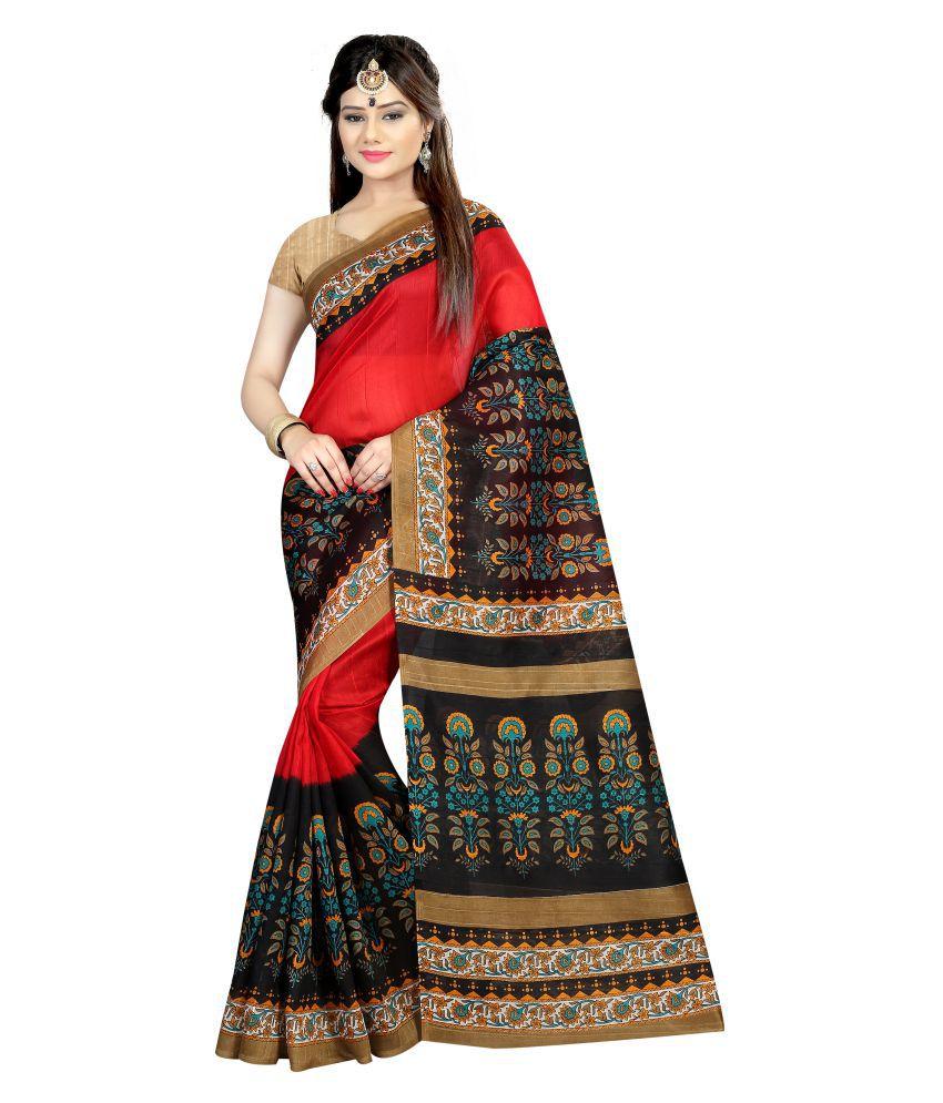 Radiance Star Multicoloured Bhagalpuri Silk Saree