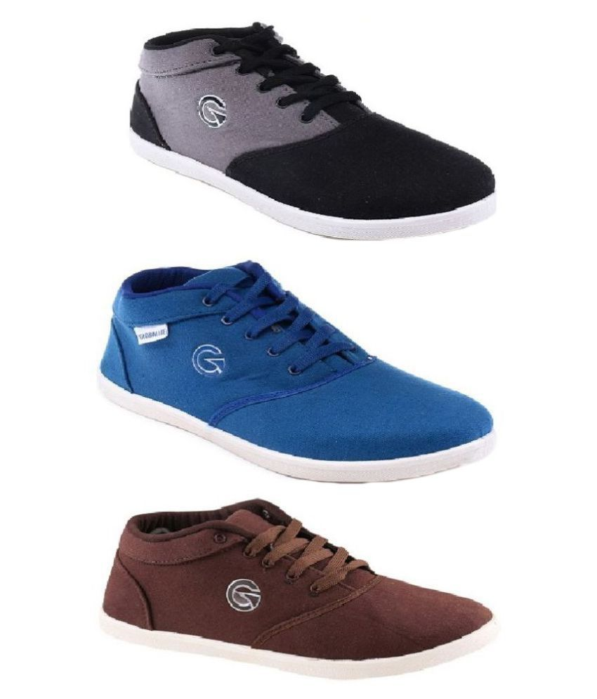 Globalite Combo Sneakers Multi Color Casual Shoes