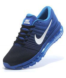 best service 2b8a2 ea8dc Quick View. Nike Airmax 2017 Blue Running Shoes