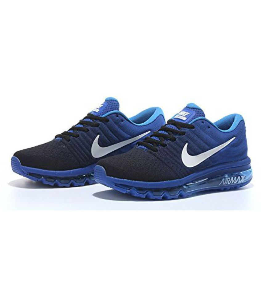Nike Airmax 2017 Ltd Edition Navy Royal Multi Color Running Shoes
