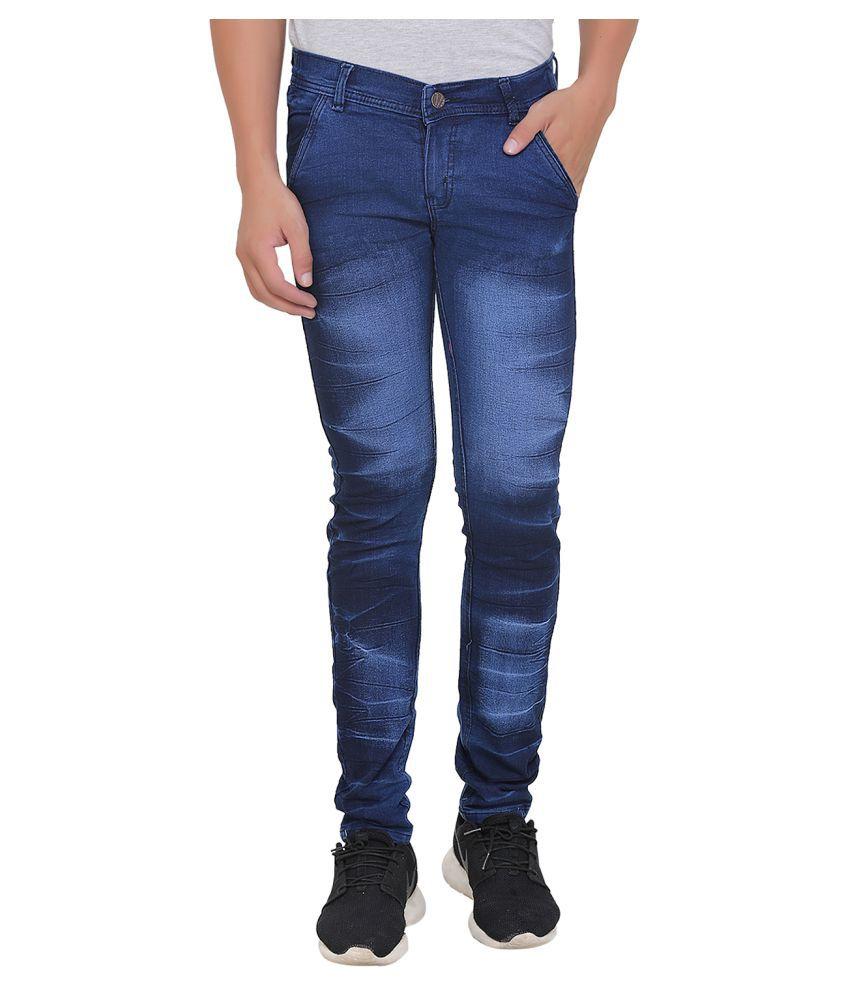 Benzora Blue Skinny Jeans
