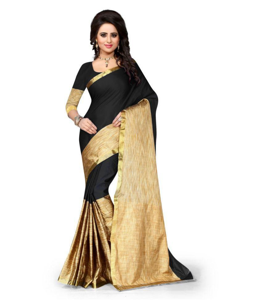 Fashion and Hub Multicoloured Cotton Silk Saree