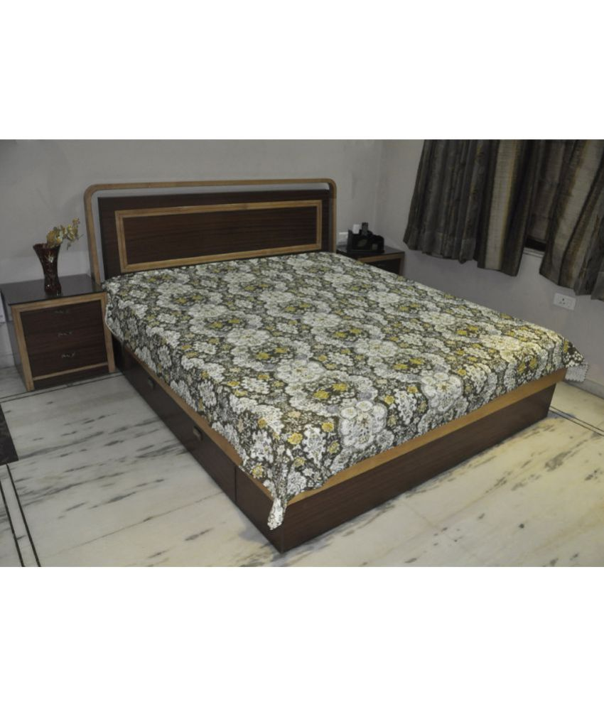 Lal Haveli Cotton Double Bedsheet