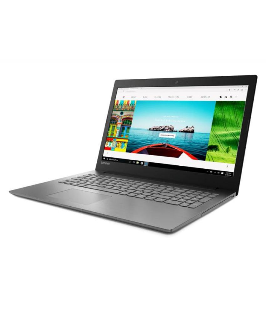 Lenovo Ideapad 80XH01GEIN Notebook Core i3 (6th Generation) 4 GB 39.62cm(15.6) DOS ONYX BLACK