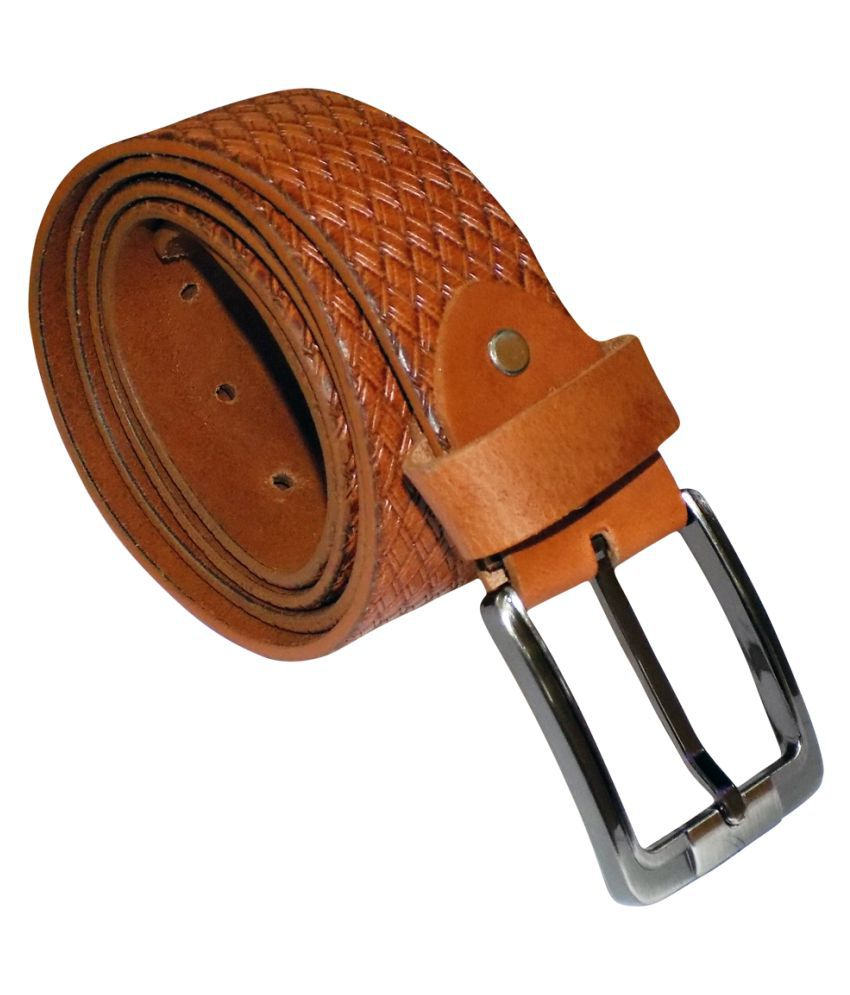 Style 98 Brown Leather Party Belts