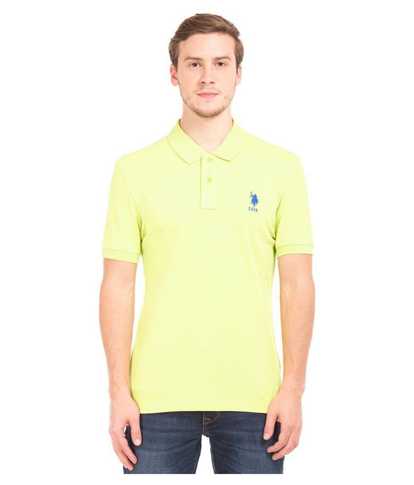 U.S. Polo Assn. Green Round T-Shirt